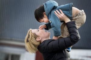 Duo.Dom adopterade tre barn från Taiwan.